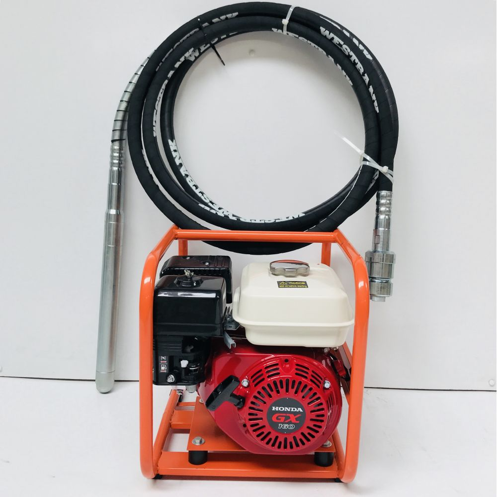 HONDA Vibrating Concrete Poker Drive Unit With 45mm Dynapac Hose