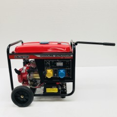 3.5 kva electric start petrol generator with handle & wheels